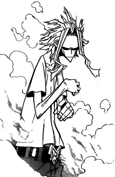 Toshinori Yagi My Hero Academia Manga Hero Boku No Hero Academia