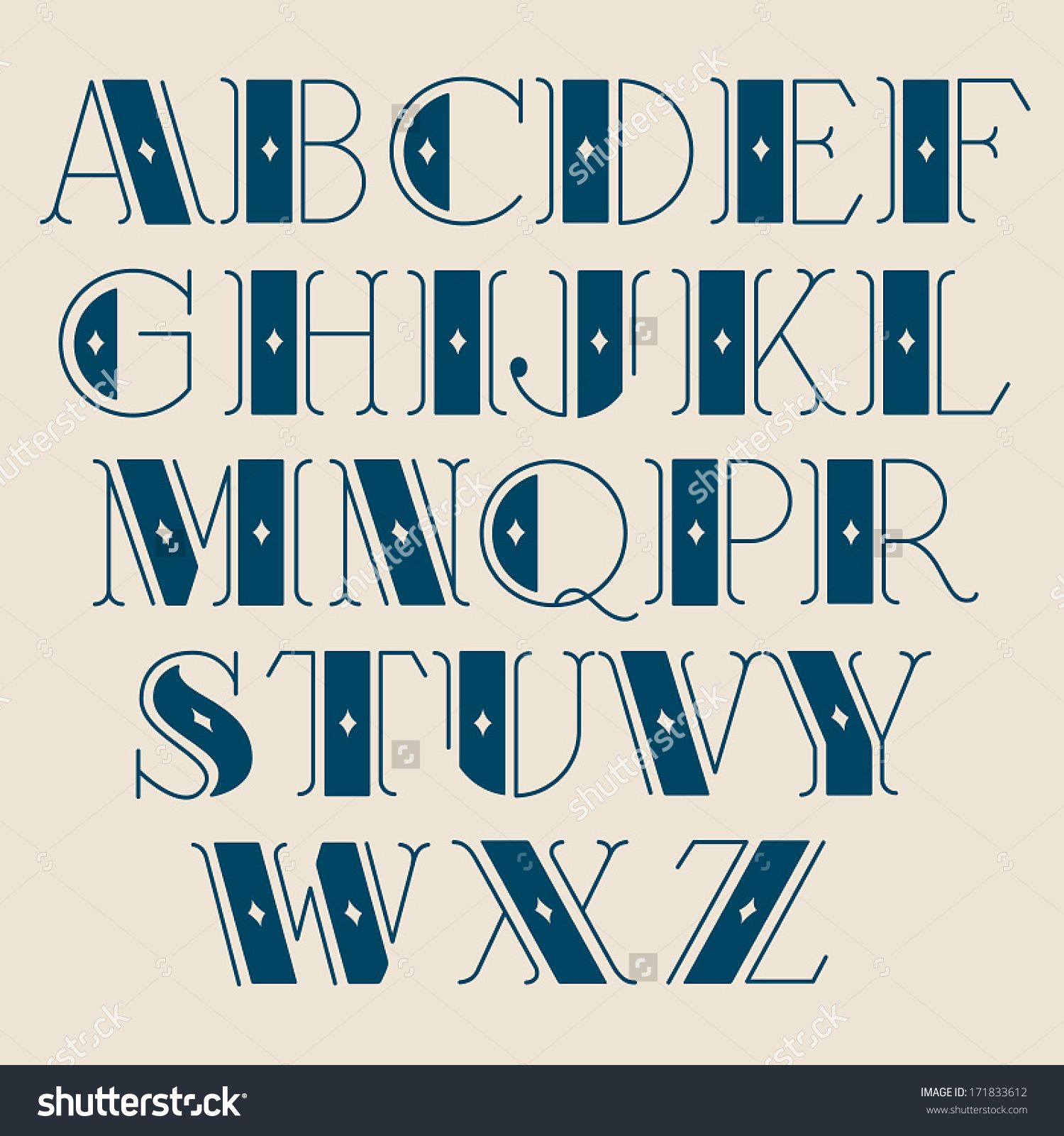 Font Design Alphabet Images Galleries