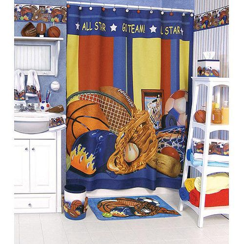 Funny Kids Bathroom Accessories Sports Theme Bidycandy Bedroom Inspiration