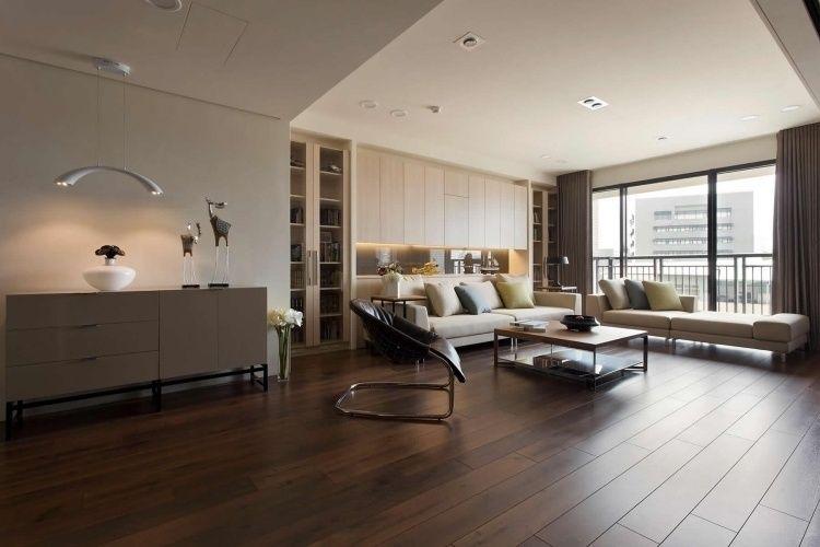 Wohnideen Offene Räume feng shui offene räume mit nicht zu viel deko und mobiliar