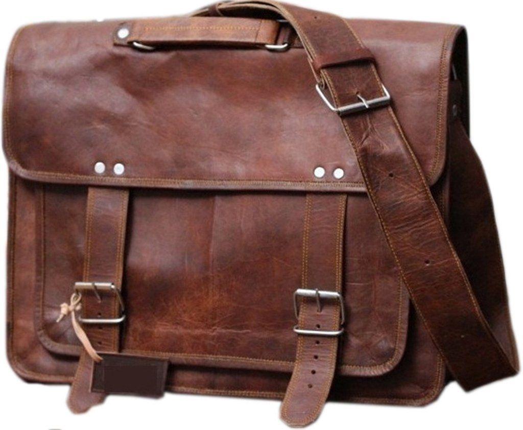 BININBOX Mens Vintage Business Messenger Shoulder Bag Briefcase Handbag