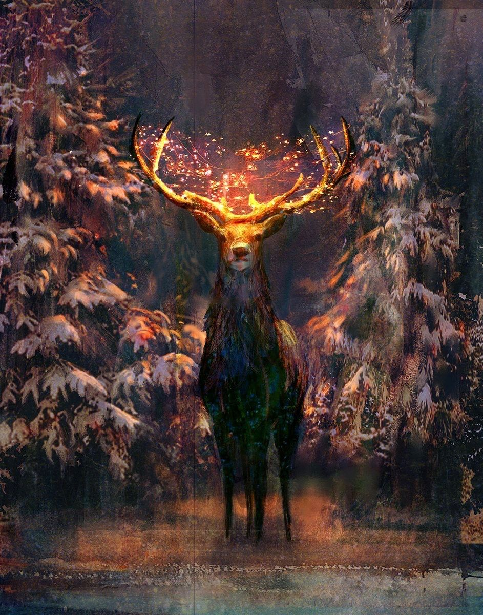 Sebastian Mckinnon Art Art Inspiration Deer Art