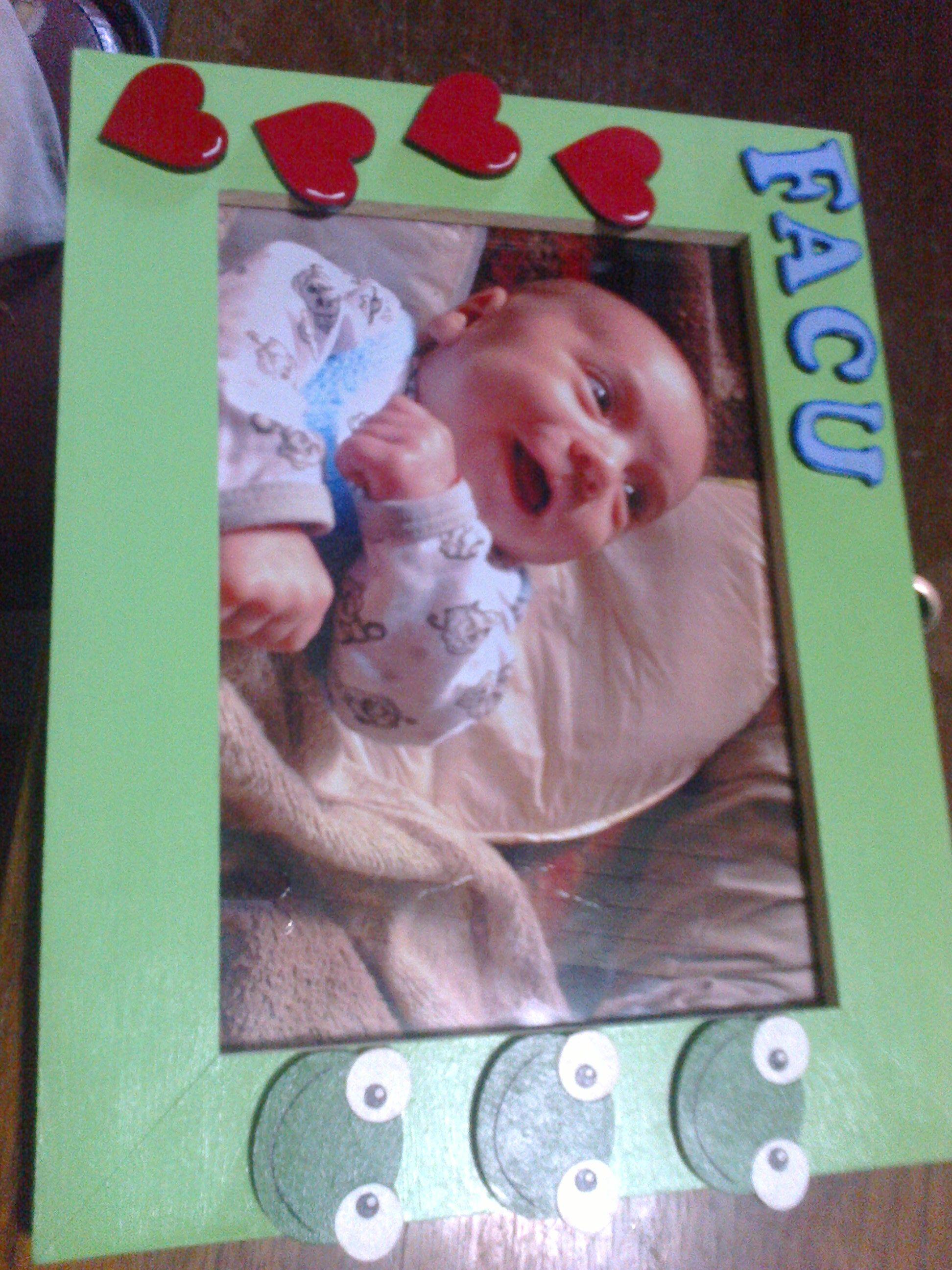 Cuandrito para bebés. Personalizado