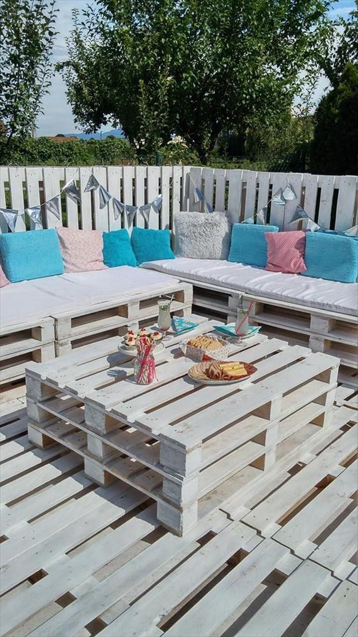 Möbel aus Paletten: 105 fantastische Ideen zum Nachbauen | Pinterest ...