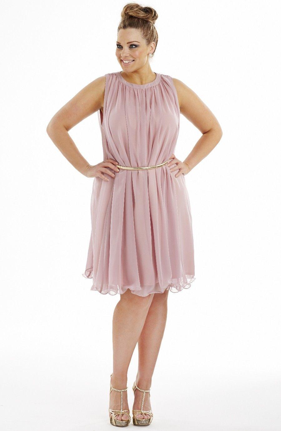 Fluted hem party dress evening dresse dream diva plus size and