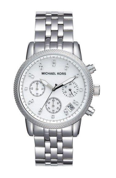 Michael Kors The Ritz Chronograph Bracelet Watch 36mm Michael Kors Uhr Michael Kors Und Uhren
