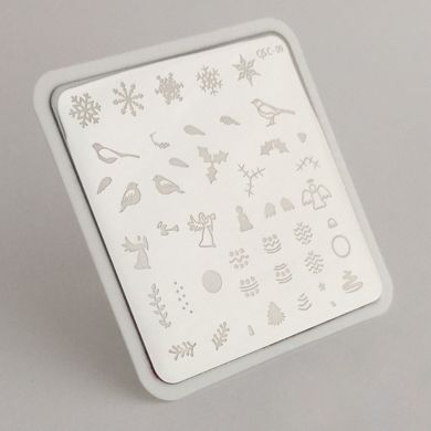 Clear Jelly Stamper- Angelic Christmas Wonderland (C-09)
