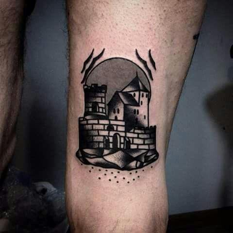Mateusz Mazak Kraków Blackwork Traditional Tattoo Ink