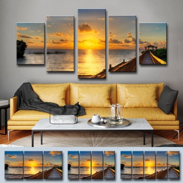 Create a dramatic focal point on your wall with this Key\'s Sunrise ...