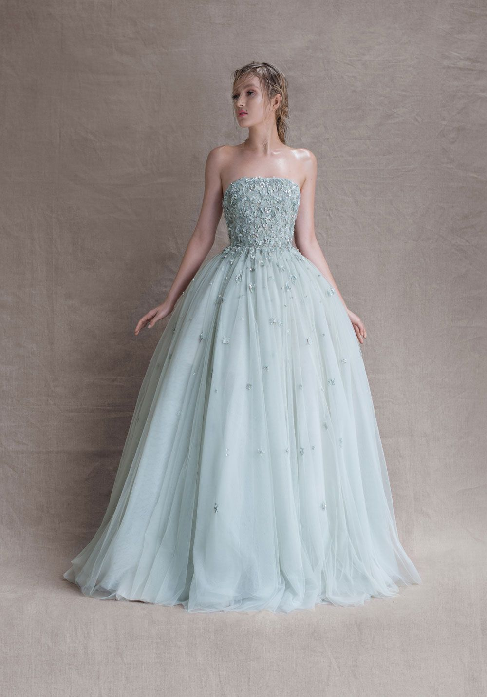 Dreaming about wearing a wedding dress   SS Couture  Paolo Sebastian  In My Dreams  Pinterest