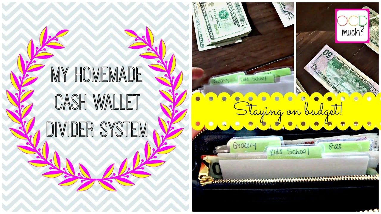 Dave Ramsey Style - My Tory Burch Cash Envelope Wallet Divider System - ...