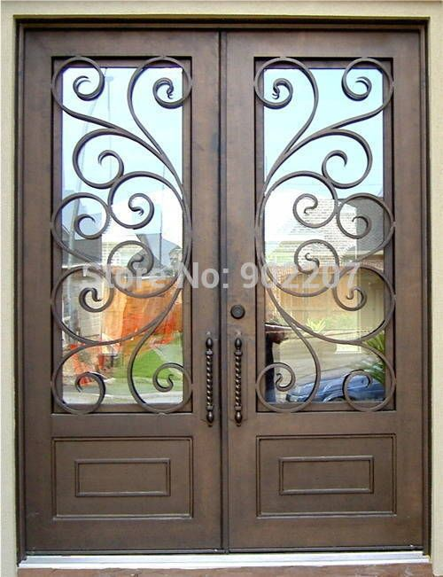 Acheter shanghai henchuang porte d 39 entr e en fer forg - Acheter porte d entree ...