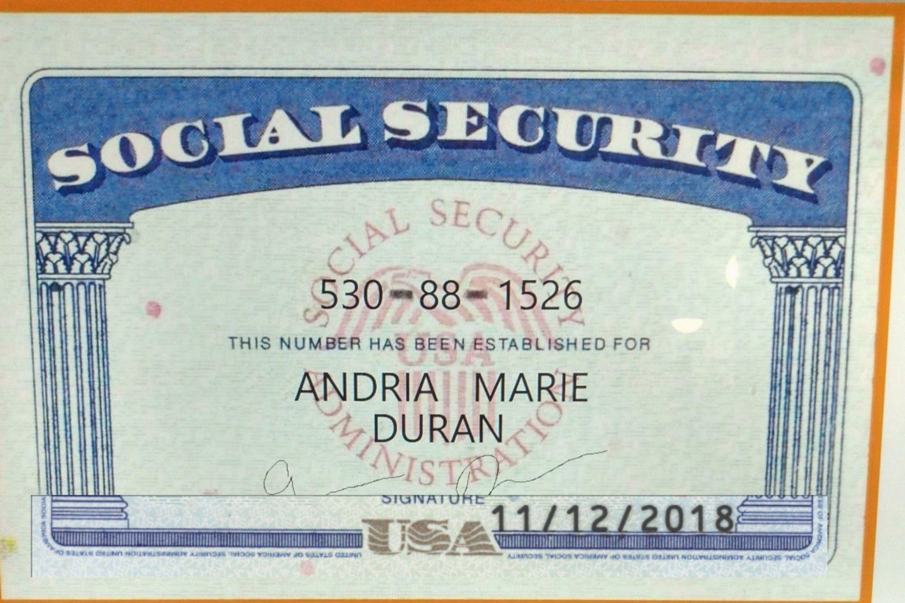 9 Card Template Ideas Card Template Social Security Card Id Card Template