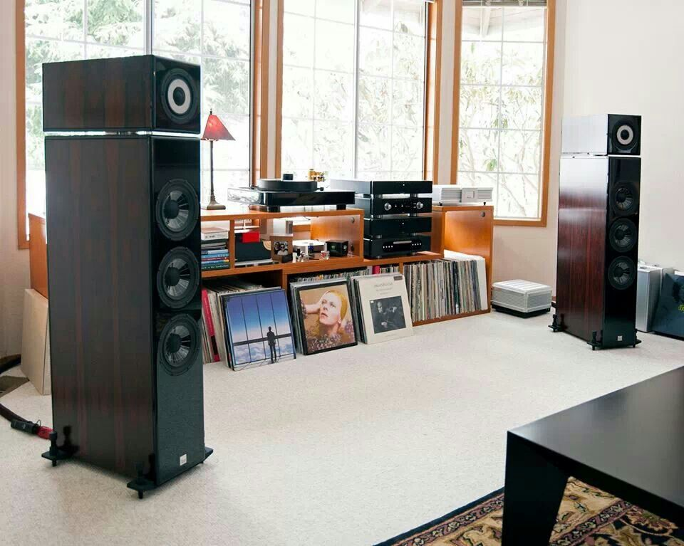 Audiophile Setup Copy Of Hunky Dory In This Collection I See Audiophile Listening Room Audiophile Room Audio Room #sound #system #living #room