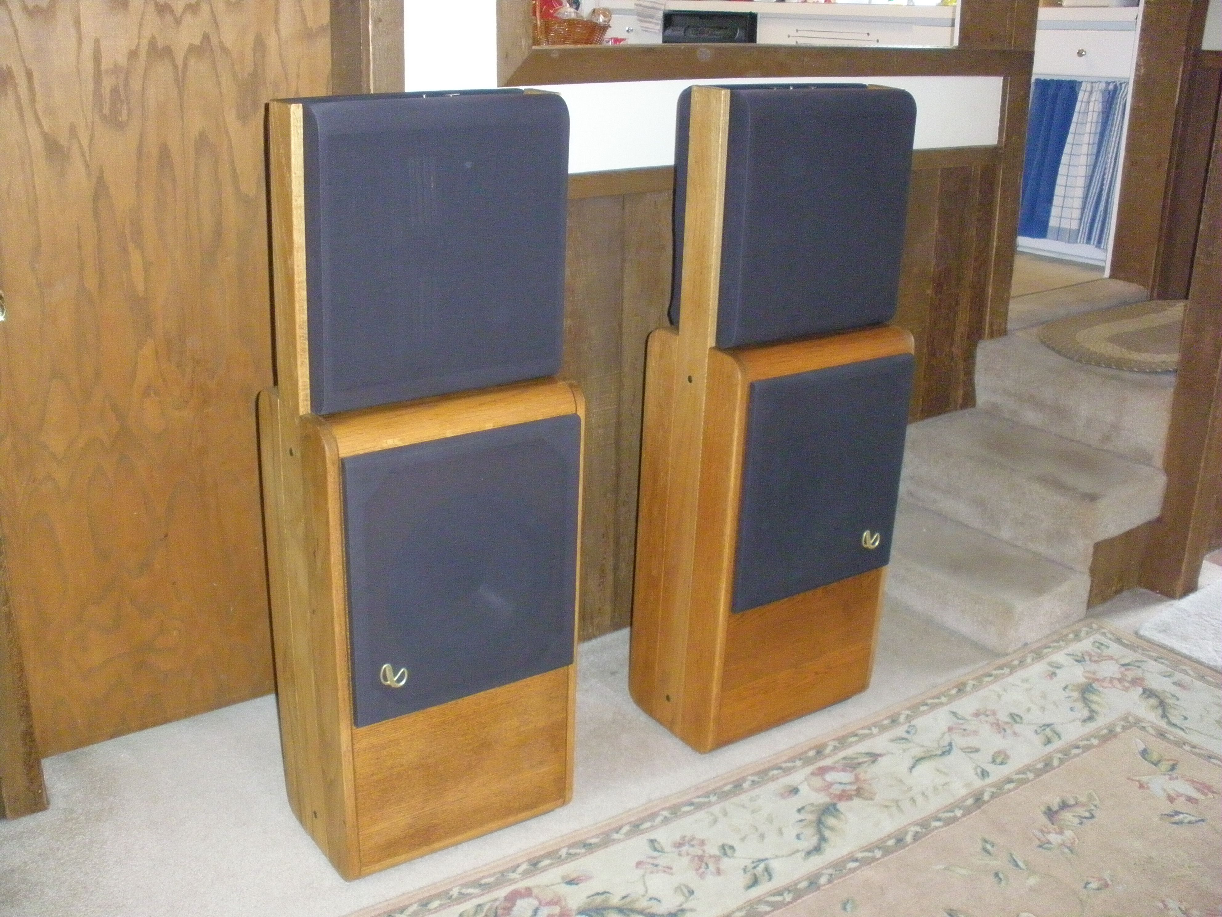 Infinity Rs 2 5 Speakers Vintage Amp Newer Stereo Speakers