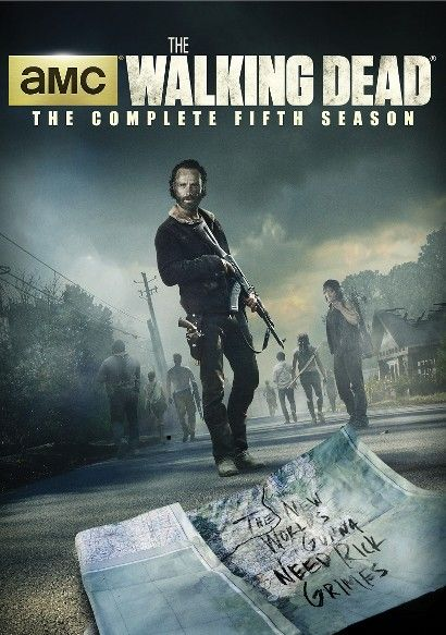 The Walking Dead Season 5 5 Discs Dvd Video With Images