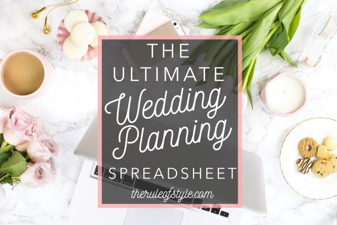 The Ultimate Wedding Planning Spreadsheet - Free Download THAT\u0027S