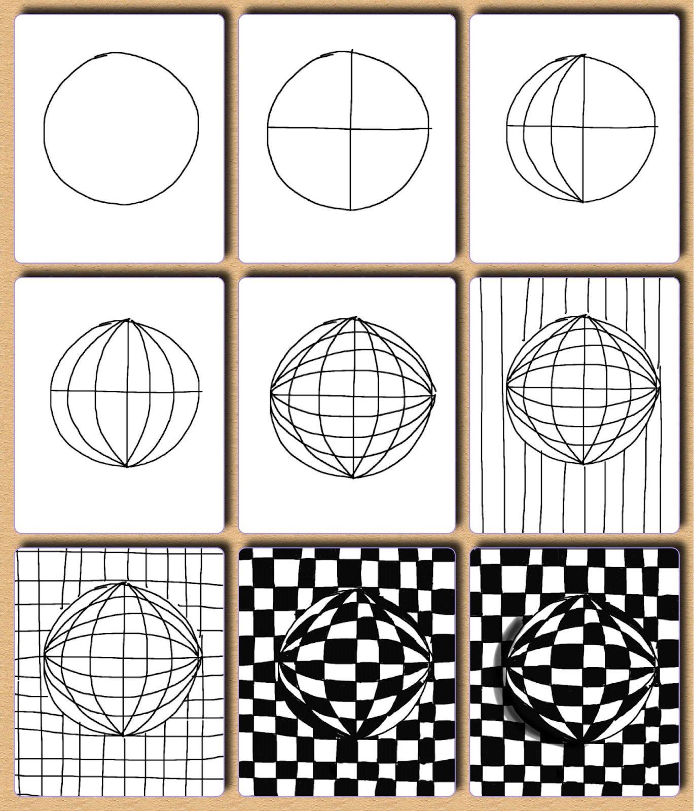 Op Art Ideas By Tina Kejlberg Great Tangle Ideas Plus