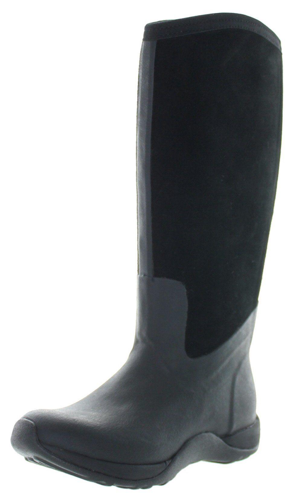 Muck Arctic Adventure Zip Suede, Women Warm Lining Rain Boots