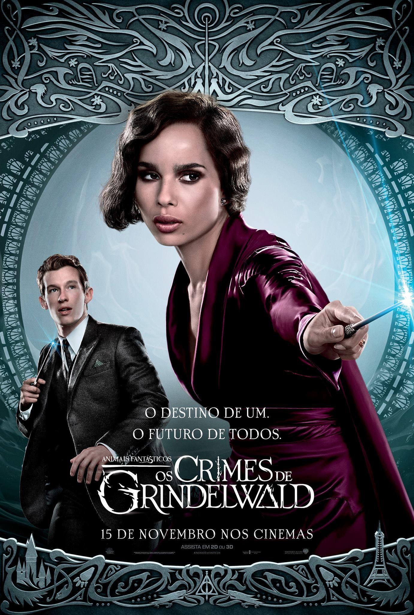 Animais Fantasticos E Os Crimes De Grindelwald O Filme