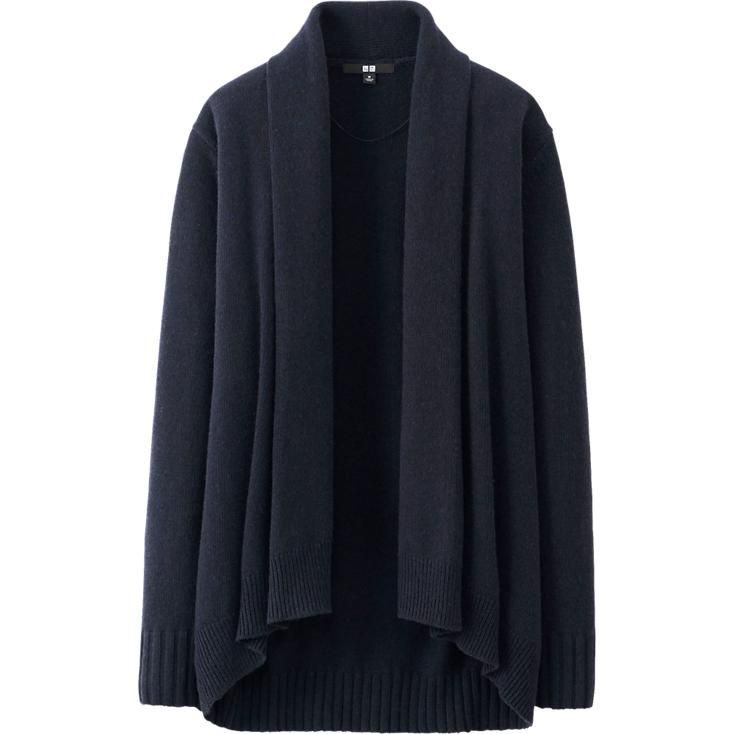 WOMEN CASHMERE BLEND STOLE CARDIGAN | UNIQLO