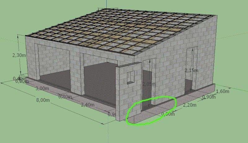 Cout D Un Garage En Parpaing Prix Construction 50m2 Garage Construction Garage Design Concrete Sheds