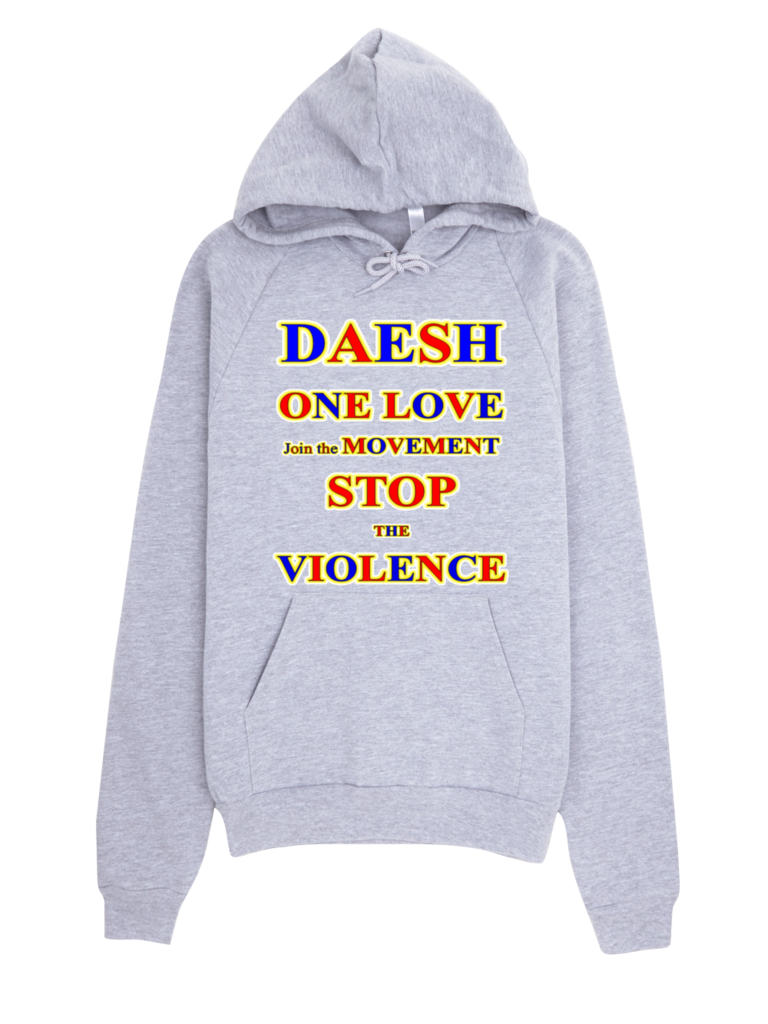 1684-H ... U.S.A. ... DAESH ... Join the MOVEMENT ... HOODIE
