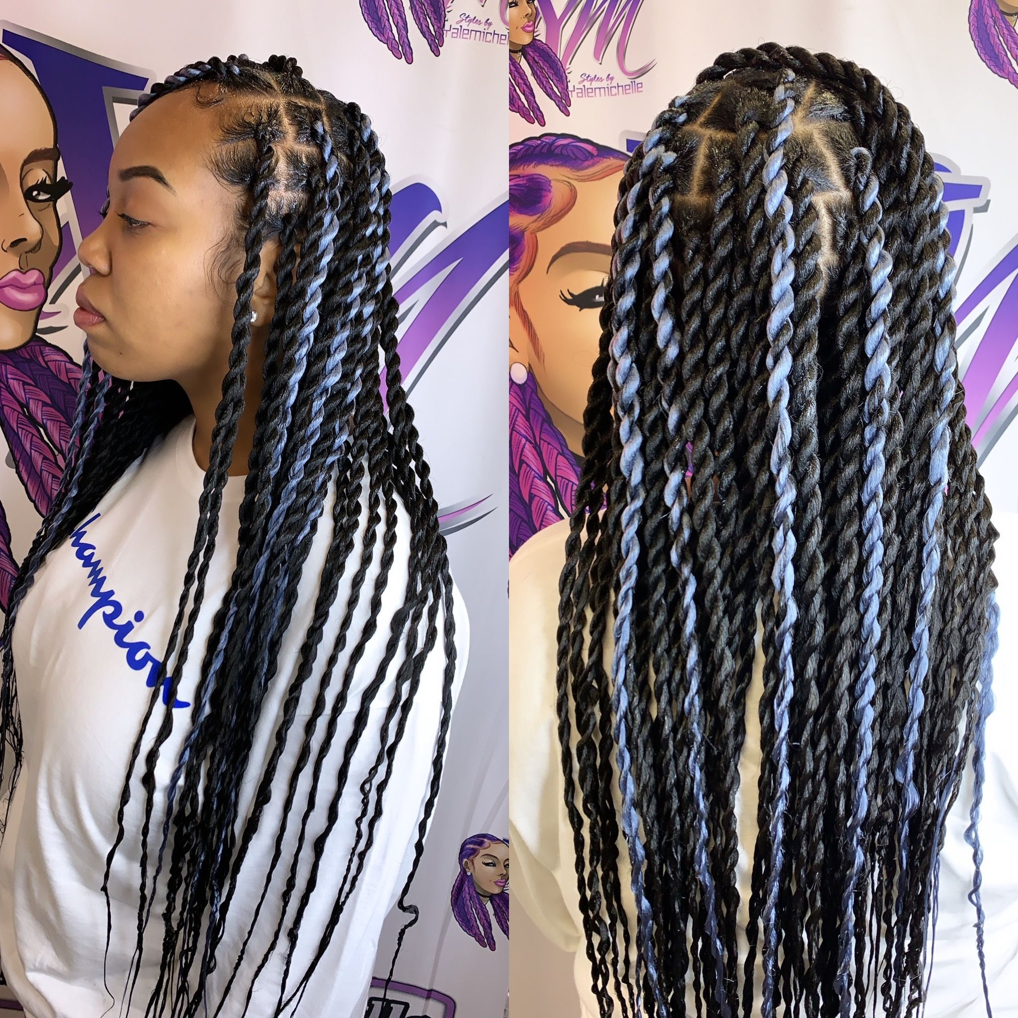 Pin By My Info On Box Braids In 2020 Hair Styles 2017 Hair