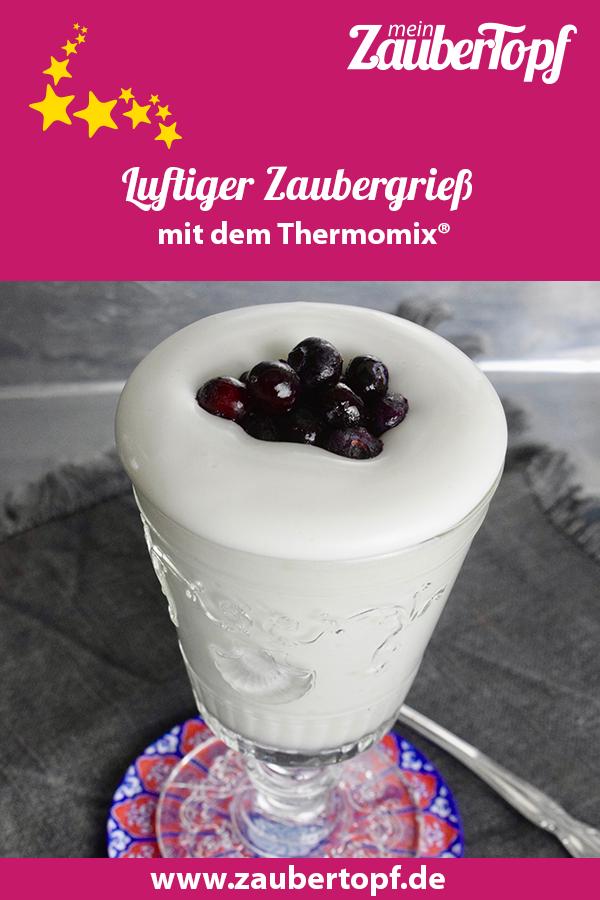 Luftiger Zaubergrieß – Rezept für den Thermomix®