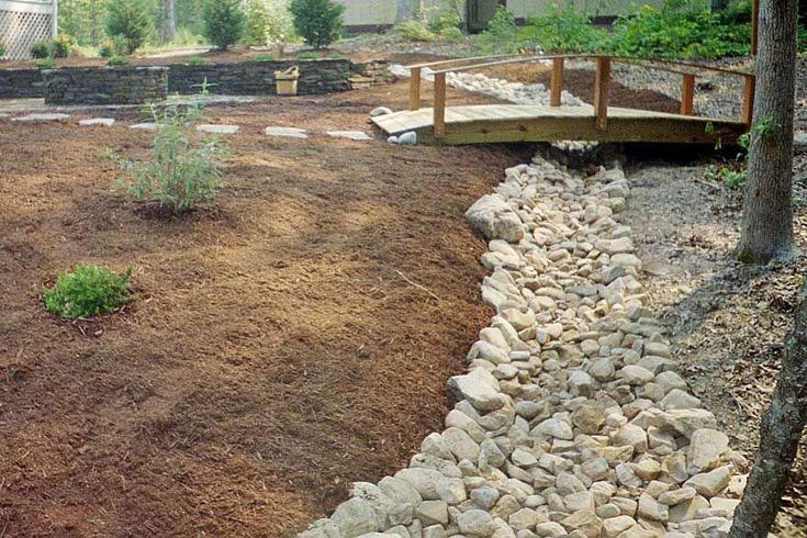 The nice thing about these river rock landscaping ideas is that they can be appl #riverrocklandscaping