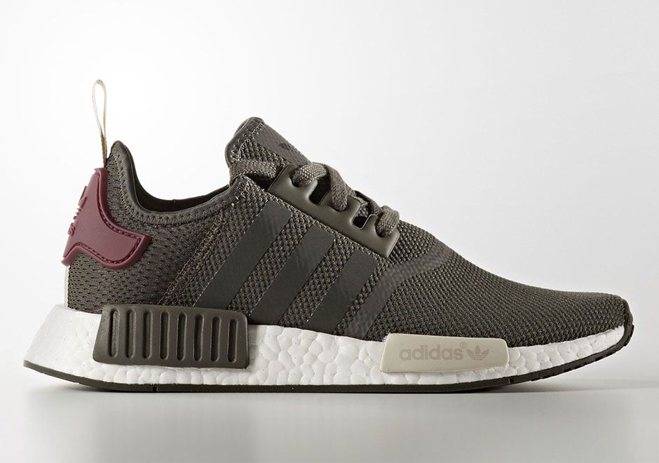 adidas NMD Olive Maroon Spring 2017 Release | Fashion
