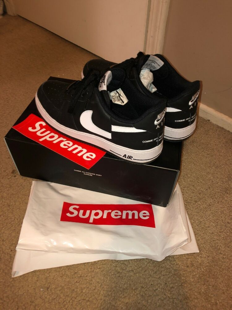 SUPREME CDG Comme Des Garcons Nike Air Force 1 Size 12  fashion  clothing   shoes  accessories  mensshoes  athleticshoes (ebay link) adedf28a02