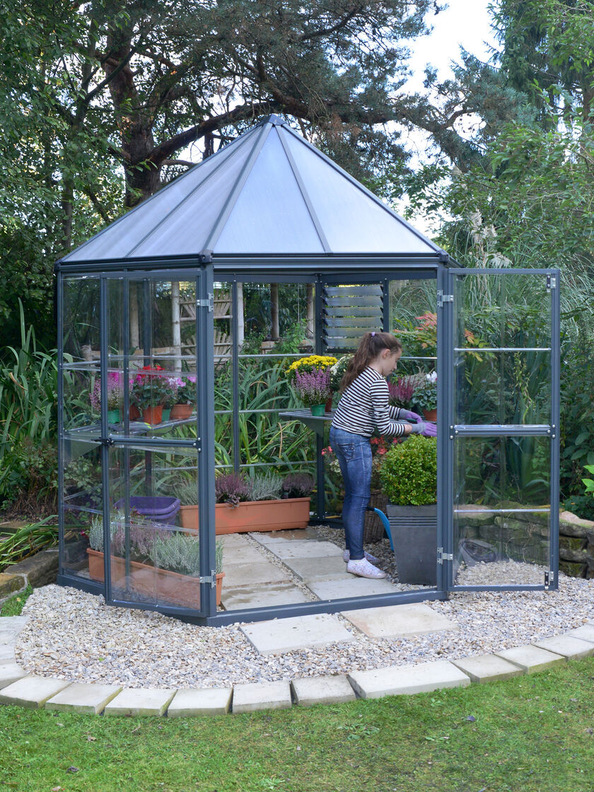 Oasis Hexagon Greenhouse Gardener S Supply In 2020 With Images