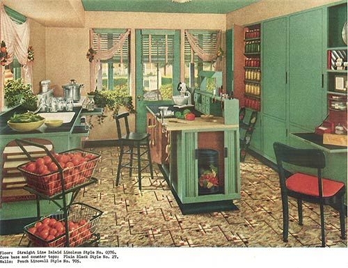 1940s Decor 32 Pages Of Designs And Ideas From 1944: retro home ideas