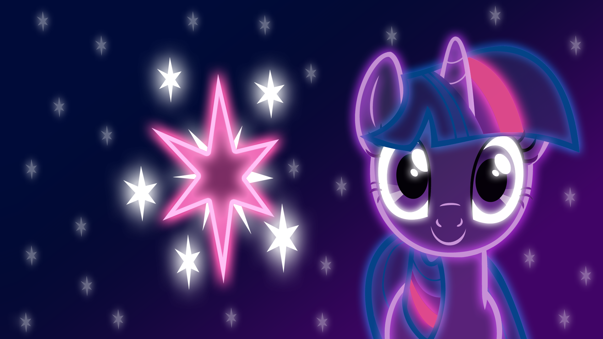 Neon Twilight Sparkle Wallpaper By Zantyarz Deviantart Com On