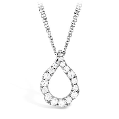 "Hearts on Fire ""Lorelei Crescent Diamond Pendant"""