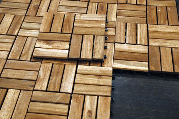 Platta deck tiles that snap together and make a deck out ...