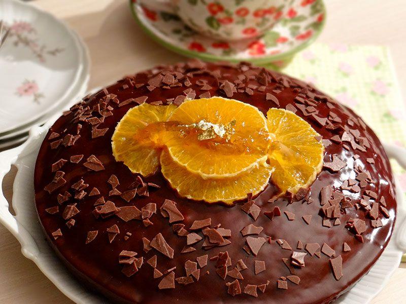 Gateau Au Chocolat Et A L Orange Gateau Chocolat Recette Gateau Nutella Gateau