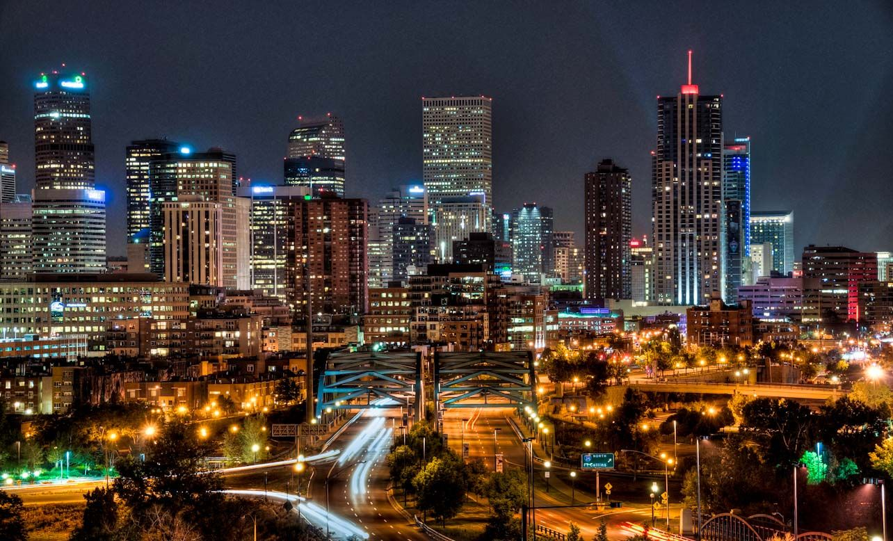 Denver Cityscape Wallpaper | Purchase a print or digital download of this photo by clicking on the .