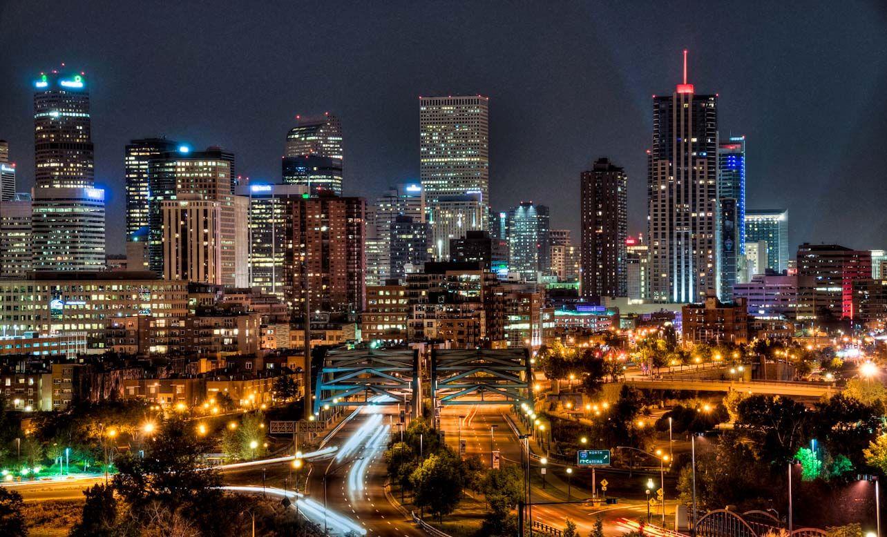 Denver Cityscape Wallpaper | Purchase a print or digital download ...