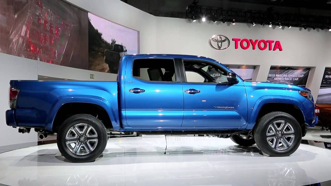 2016 toyota tacoma preview 2015 detroit auto show a brief video review of the new