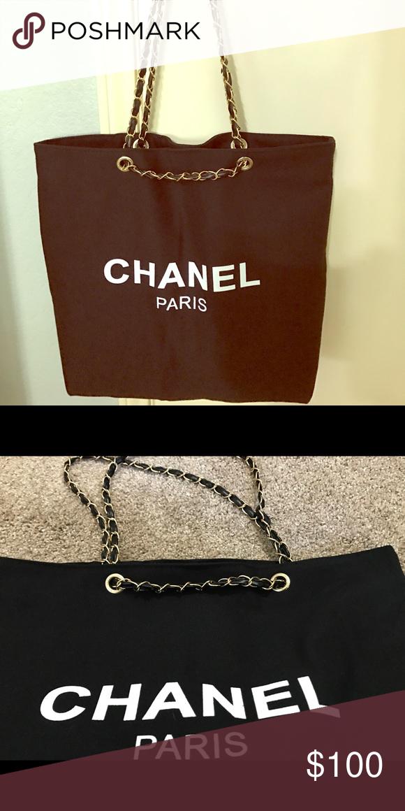 baa2be87cc5e Chanel Tote bag VIP gift Reposhing NWOT Chanel VIP Tote bag. It's VIP gift.  Bought it from Posh CHANEL Bags Totes