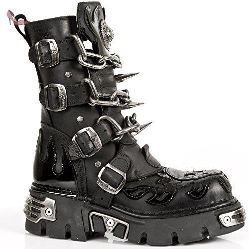 New Rock M 727 S1, Boots mixte adulte, Noir (Black), 39
