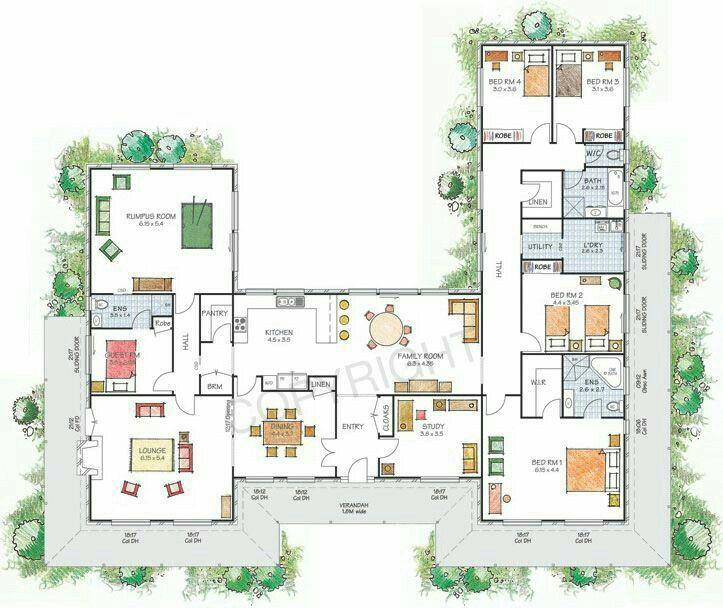 Hausbau · GrundrisseAufteilungHaus ...