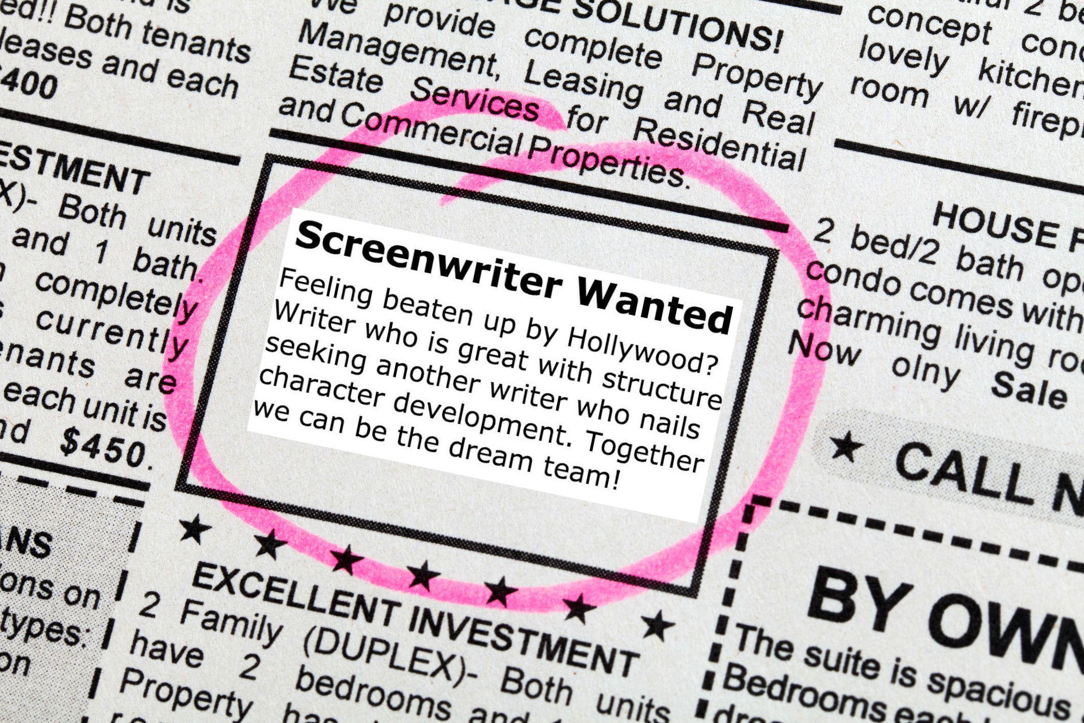 Find a writing partner online