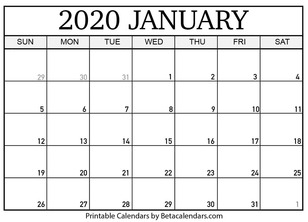 If You Download Your January 2020 Calendar Template You Will See That The Empty And Ready To Fill Mon Calendar Printables September Calendar Calendar Template