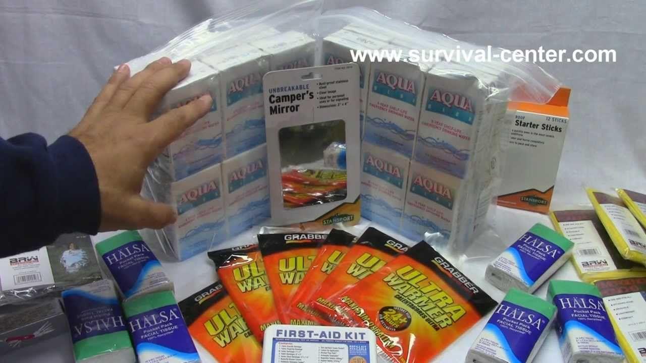 Nexis 6 Person GrabNGo Emergency Kit Review Emergency