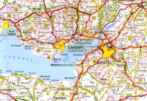 United Kingdom and Ireland Zoom Map Dnya Pinterest Ireland