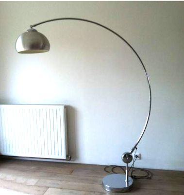 lampadaire arc chrome annees 70 www