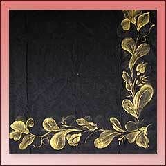Fabric Painting Designs Tablecloth Design Garment